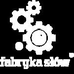 Logo wydawnictwa Fabryka Słów
